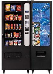 vending snack machines drink soft drinks usi snacks combination cb300